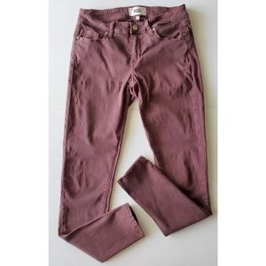 PAIGE Verdugo Ultra Skinny Jeans Plum Size 28